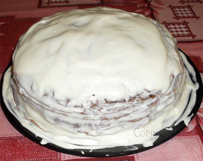 Блинный торт со