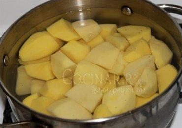 Картофельная запеканка в духовке, пошаговый рецепт с фото